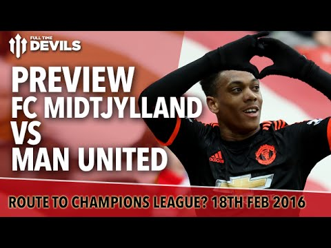 FC Midtjylland vs Manchester United | Europa League | PREVIEW
