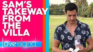 Sam reveals the best thing he took away from the Villa | Love Island Australia 2019