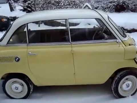 bmw isetta 600 in the snow youtube. Black Bedroom Furniture Sets. Home Design Ideas