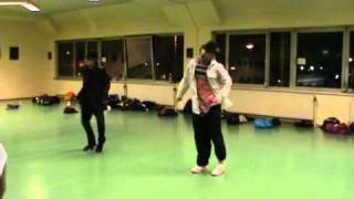 Misha Gabriel & Nick Bass - Dangerous / Michael Jackson@ Vienna Dance Center