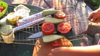 Овощи на гриле. Очень простым способом. Вкусно.