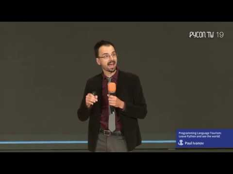 Image from Keynote: Programming Language Tourism: Leave Python and see the world!