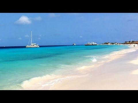 Catamaran Sailing to Klein Curaçao Island, Caribbean Sea