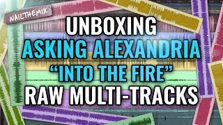 UNBOXING Asking Alexandria Into The Fire Raw Multi Tracks