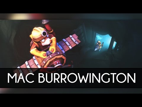 [SFM] Mac Burrowington - Dota 2 Courier