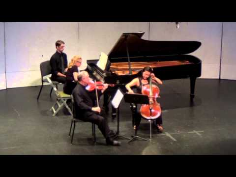 Brahms Piano Trio No 2 in C Major Op 87 FF2013