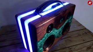 DIY  Epoxy Resin Bluetooth Speaker
