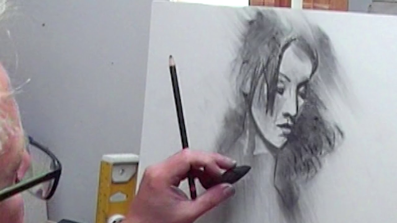 Working In Charcoal