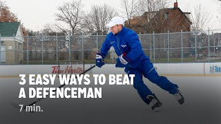 3 Easy Ways t๐ Beat a Defenceman 1-on-1