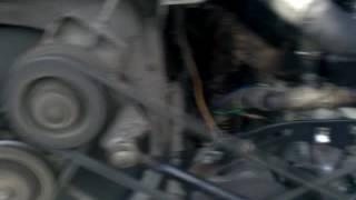 Работа двигателя D6BR автобуса HYUNDAI AEROTOWN