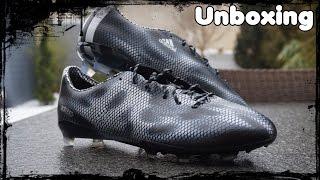 Unboxing: adidas f50 adizero fg black