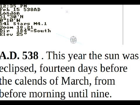Fabricated History/Missing Centuries - Anglo Saxon Chronicles correlation with Solar Eclipses