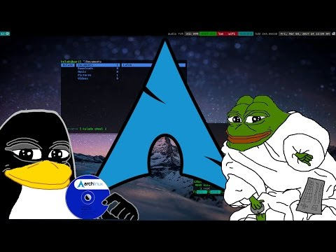 Get My Arch Linux Ricing/Config Easy! (Smug + comfy edition)