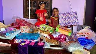 Happy anniversary & daughter birthday   Giftsss opening   gopal sonia