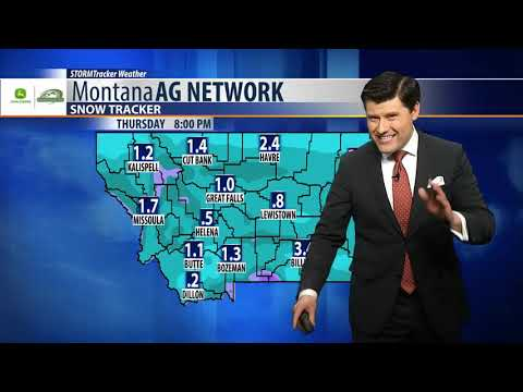 Montana Ag Network Weather : February 13th Mp3