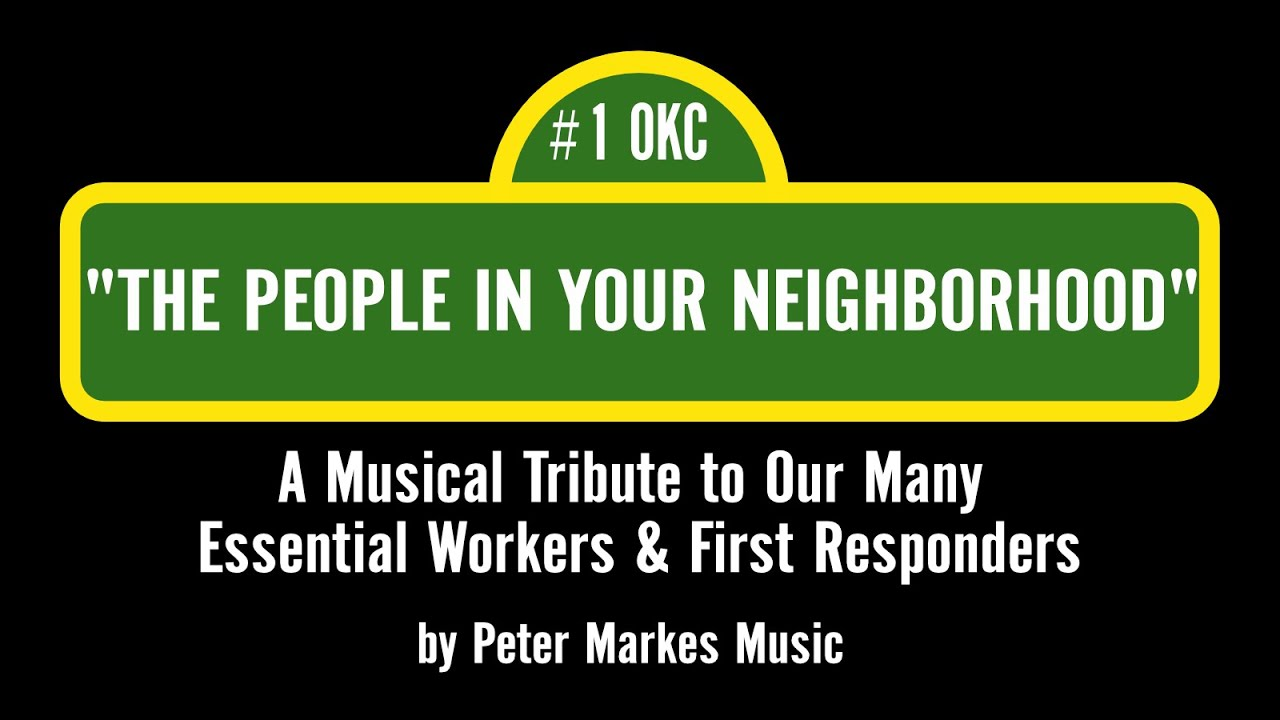 THE PEOPLE IN YOUR NEIGHBORHOOD from Sesame Street  |  Video Tribute by Peter Markes