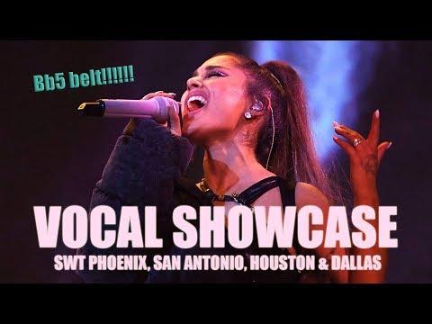 VOCAL SHOWCASE - Ariana Grande: Sweetener Tour Phoenix, San Antonio, Houston & Dallas