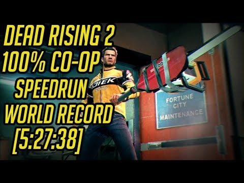 Dead Rising 2 100% Co-Op Speedrun World Record [5:27:38]