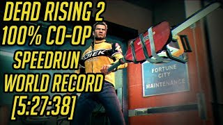 Dead Rising 2 100% Co-Op Speedrun World Record [5:27:38]