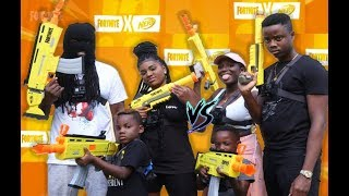 FORTNITE NERF BATTLE  |SQUADS|