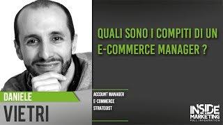 Le figure professionali nel mondo dell'eCommerce | Daniele Vietri