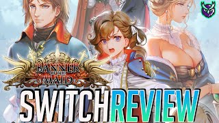 Banner of the Maid Switch Review - French Fantasy Tactics! (Video Game Video Review)