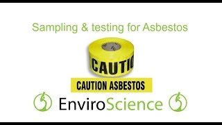 How to safely DIY a sample for asbestos testing - Asbestos Test Kit