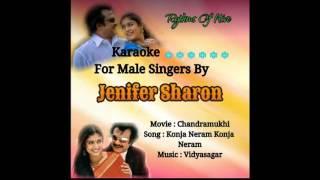 Konja Neram Konja Neram Karaoke For Male Singers By Jenifer Sharon