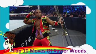 Top 10 Moves Of Xavier Woods
