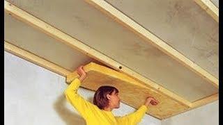 Как утеплить потолок изнутри