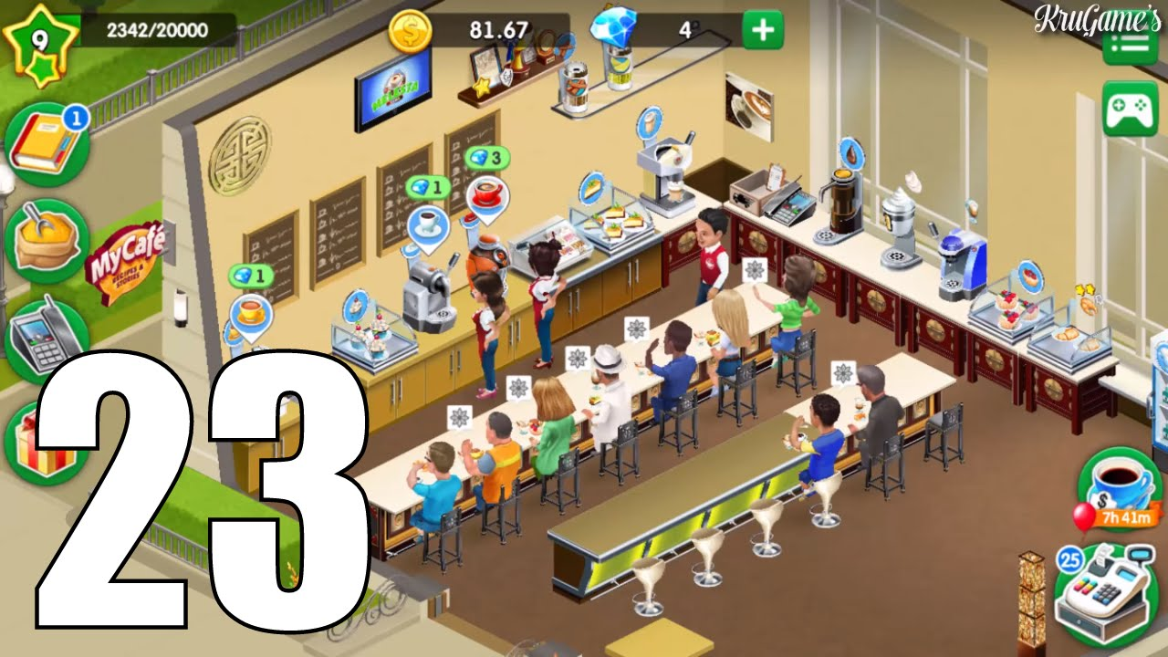 my cafe recipes stories android gameplay 23 level 9 youtube. Black Bedroom Furniture Sets. Home Design Ideas