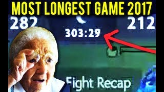 Longest Game of the Year - 2017   Dota 2