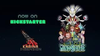 Kickstarter Retro Game Project - MindSeize by Kamina Dimension (Physical Switch stretch goal)