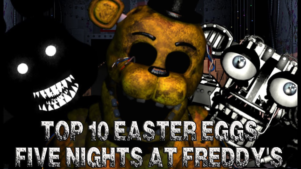 Top 10 easter eggs de la saga five nights at freddy 39 s fnaf 1 2 3 y 4 - Top 10 des cuisinistes ...