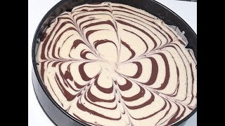 How To Make Zebra Cake/ Easy  Chocolate  Cake