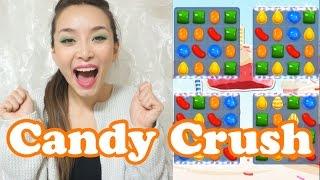 キャンディークラッシュ レベル356,357 のんびり実況。Candy Crush - 2014.10.15 SasakiAsahiVlog