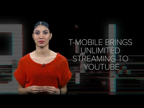 T-Mobile brings unlimited streaming to YouTube (CNET News)