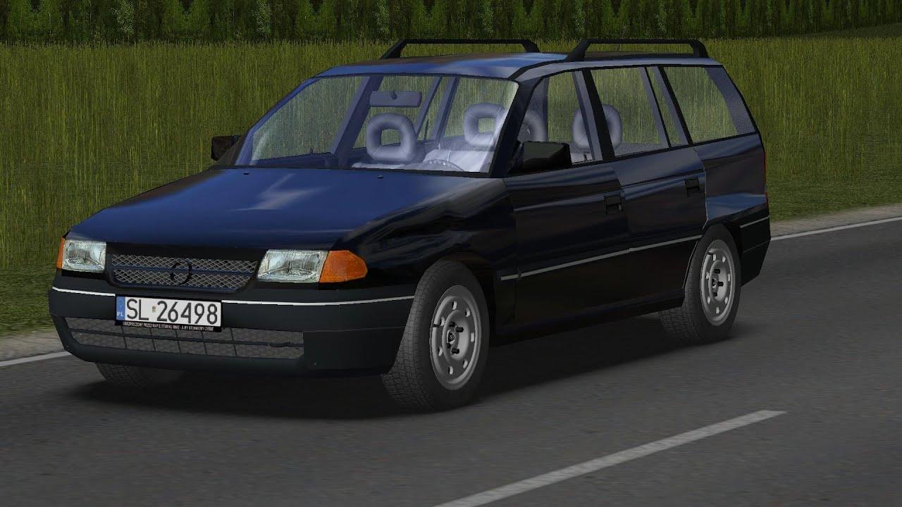 Opel Astra F Caravan 1996 drive (Links) - Racer: free game ...