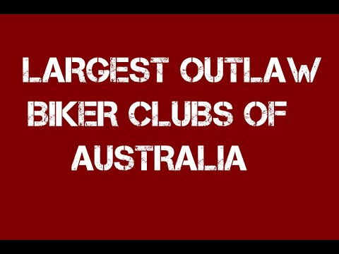The Top 8 Largest 1% Outlaw Motorcycle Clubs (Biker Gangs) Of Australia