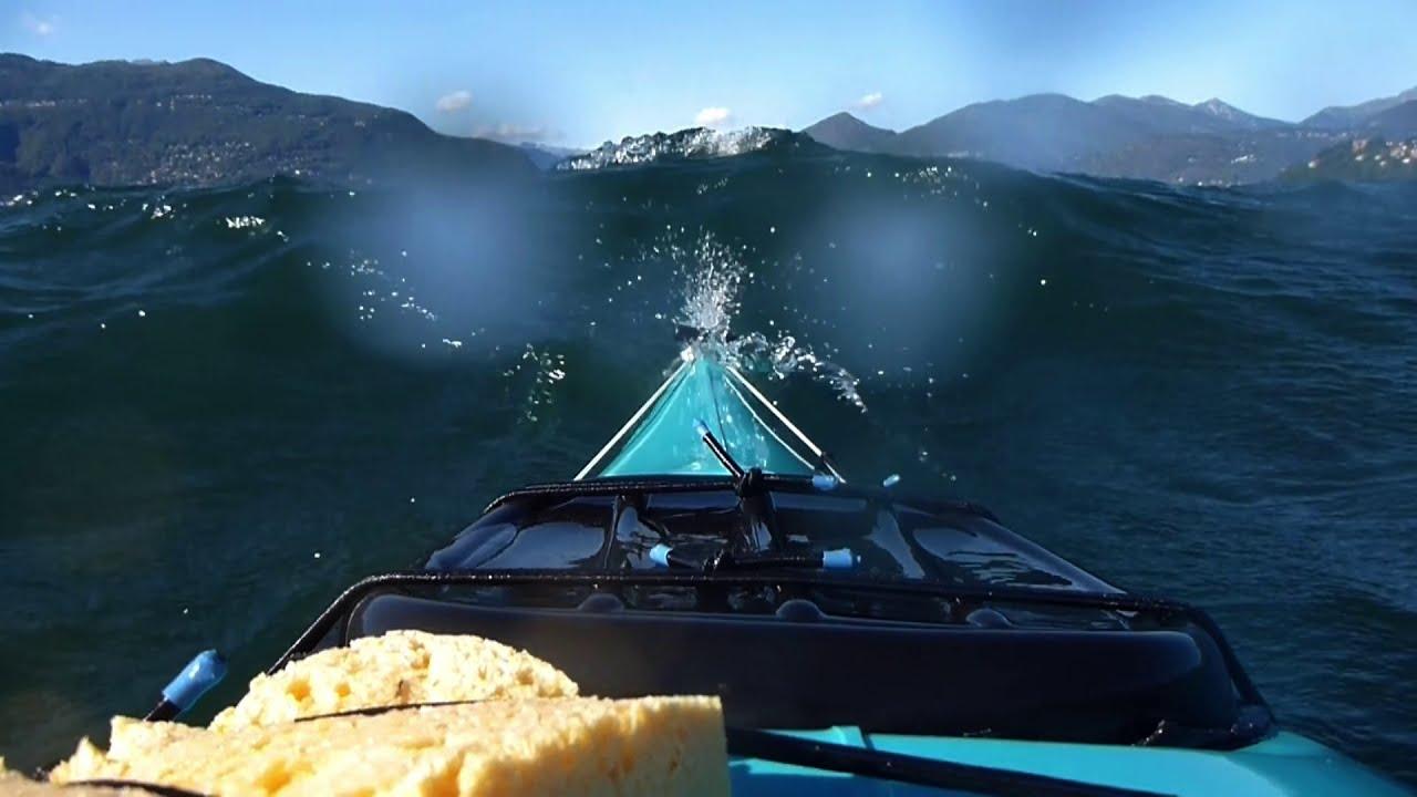 Kayaking Lago Maggiore (HD, 2012)