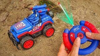 Marvelous toy box | Assembling funny cars - Toys for kids F591V