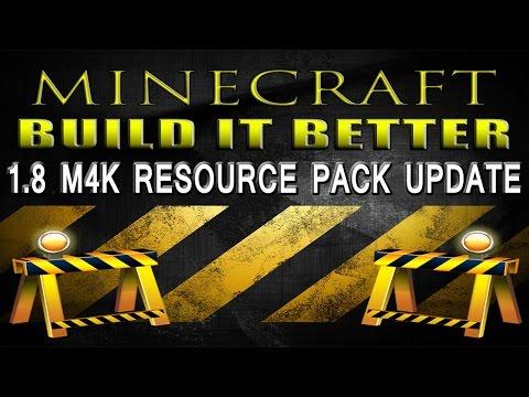 Minecraft: 1.8 M4K Resource Pack Update