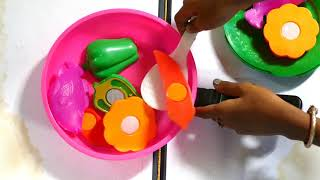 girls play kitchen | play kitchen accessories | Children play kitchen How to cook the food