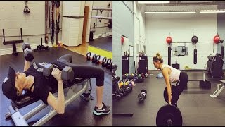 Katie Cassidy Workout Routine | Training for Arrow