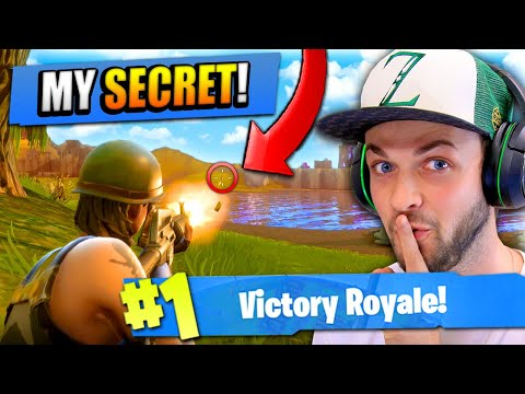The SECRET To WINNING On Fortnite: Battle Royale!