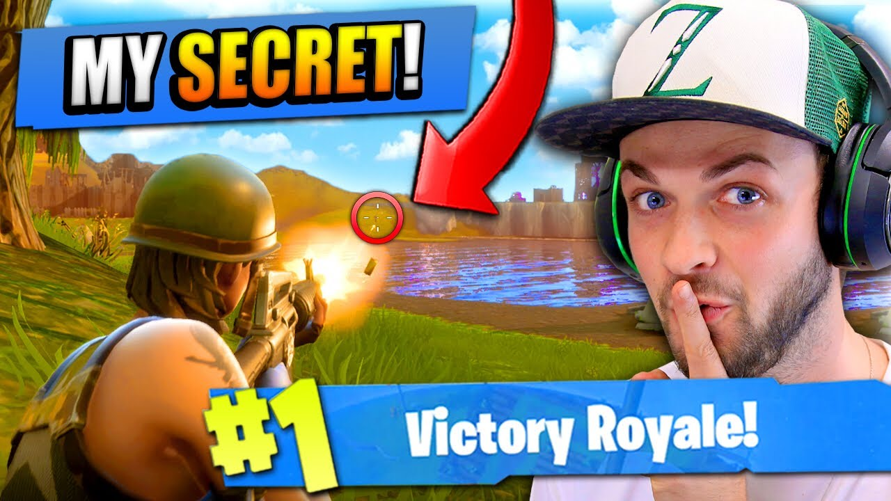 The Secret To Winning On Fortnite Battle Royale Youtube