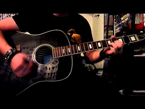 Nickelback - Lullaby (Acoustic) Cover