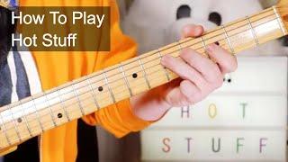 'Hot Stuff' Donna Summer Guitar Lesson