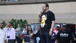 Michael Eric Dyson @ Dallas Trayvon Martin Rally