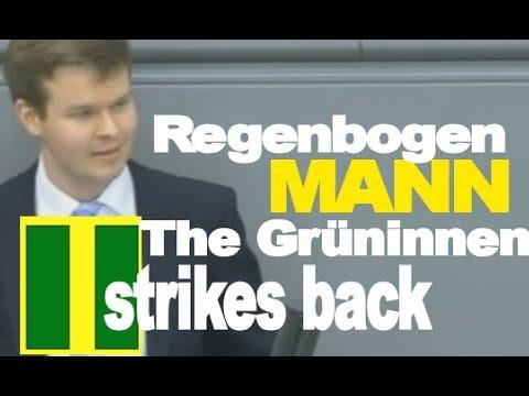 Grüne rechnen mit Regenbogenmann ab ►  Espendiller AfD Bundestag